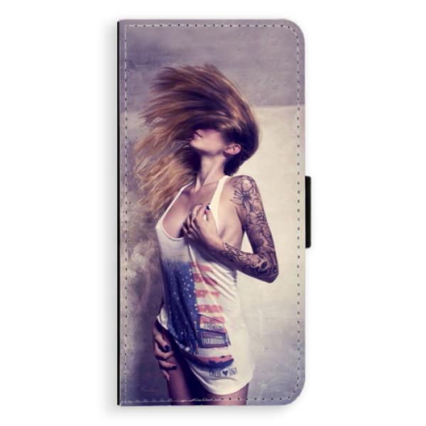 Flipové pouzdro iSaprio - Girl 01 - Samsung Galaxy Note 8