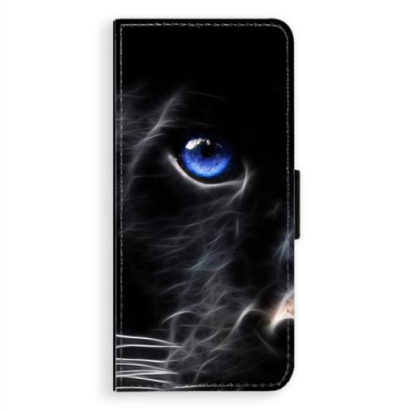 Flipové pouzdro iSaprio - Black Puma - Samsung Galaxy Note 8