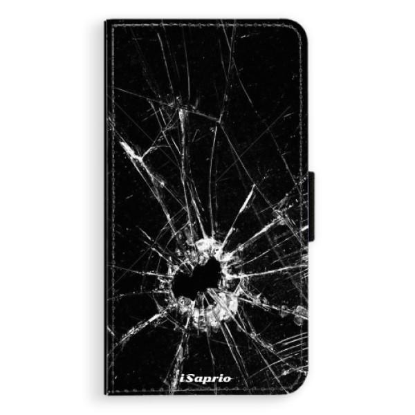 Flipové pouzdro iSaprio - Broken Glass 10 - Samsung Galaxy A3