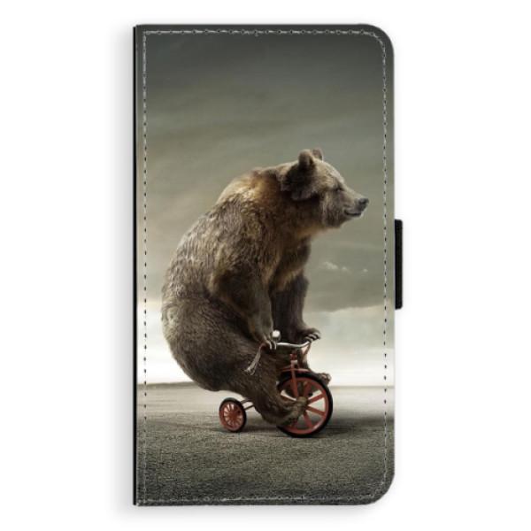 Flipové pouzdro iSaprio - Bear 01 - Samsung Galaxy A3