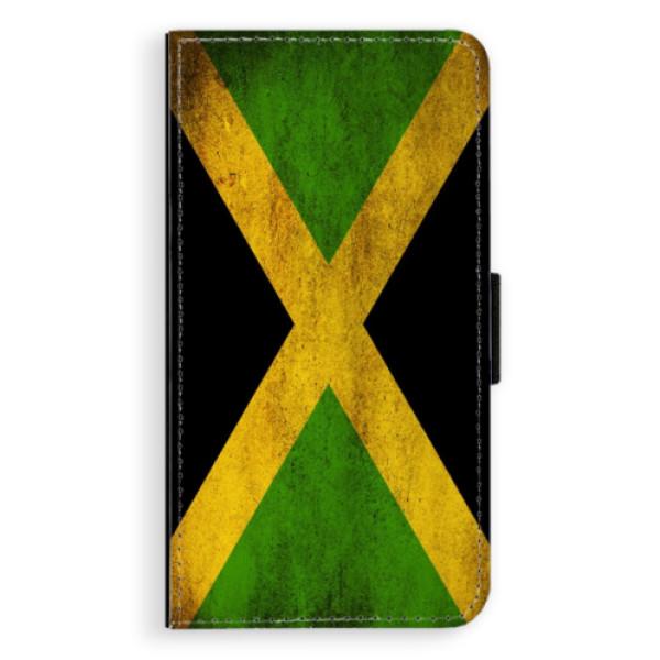Flipové pouzdro iSaprio - Flag of Jamaica - Samsung Galaxy A3