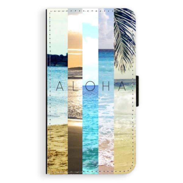 Flipové pouzdro iSaprio - Aloha 02 - Samsung Galaxy A3