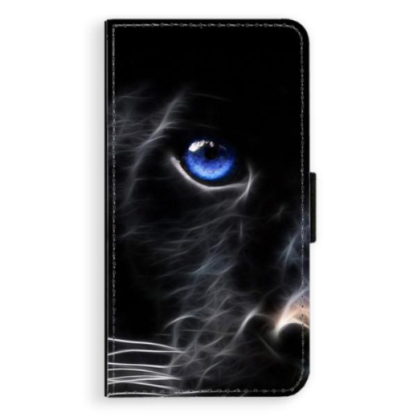 Flipové pouzdro iSaprio - Black Puma - Samsung Galaxy A3