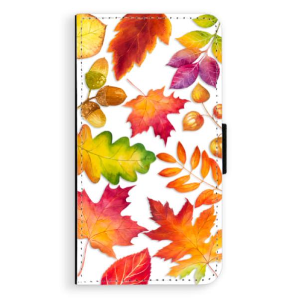 Flipové pouzdro iSaprio - Autumn Leaves 01 - Samsung Galaxy A3