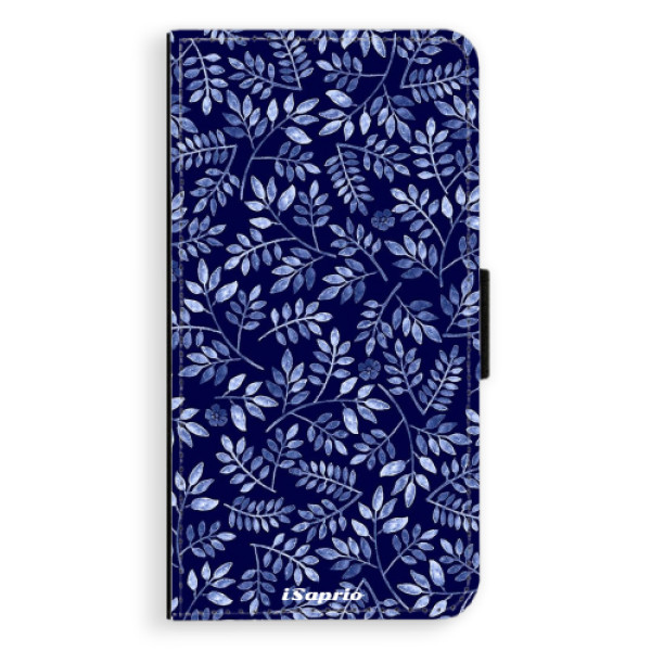 Flipové pouzdro iSaprio - Blue Leaves 05 - Samsung Galaxy A5 2016