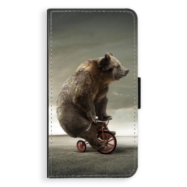 Flipové pouzdro iSaprio - Bear 01 - Samsung Galaxy J7 2016