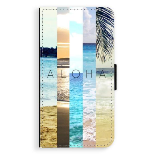 Flipové pouzdro iSaprio - Aloha 02 - Samsung Galaxy J7 2016