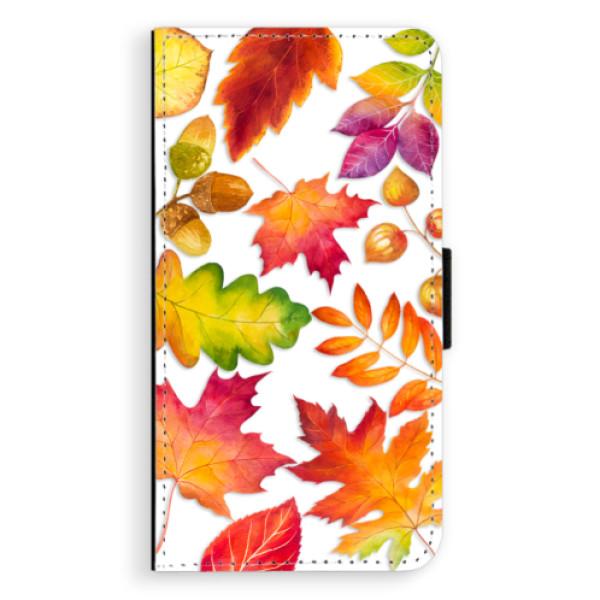 Flipové pouzdro iSaprio - Autumn Leaves 01 - Samsung Galaxy J7 2016