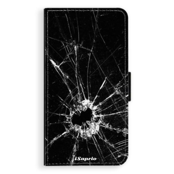 Flipové pouzdro iSaprio - Broken Glass 10 - Samsung Galaxy J7 2017