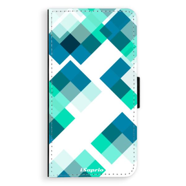 Flipové pouzdro iSaprio - Abstract Squares 11 - Sony Xperia XZ