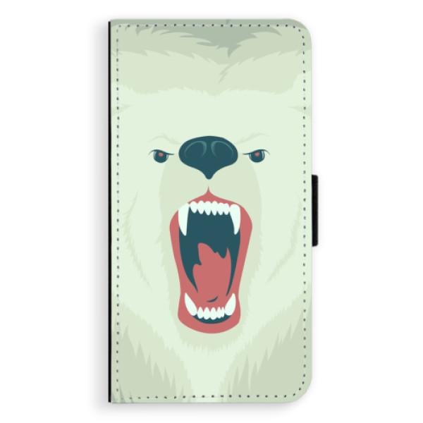 Flipové pouzdro iSaprio - Angry Bear - Sony Xperia XZ