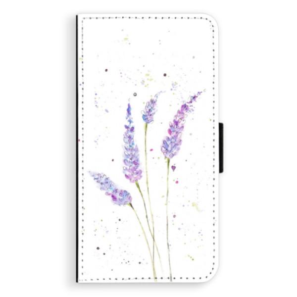 Flipové pouzdro iSaprio - Lavender - Sony Xperia XZ