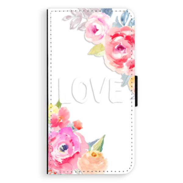 Flipové pouzdro iSaprio - Love - Sony Xperia XZ