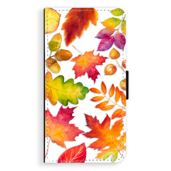 Flipové pouzdro iSaprio - Autumn Leaves 01 - Nokia 3
