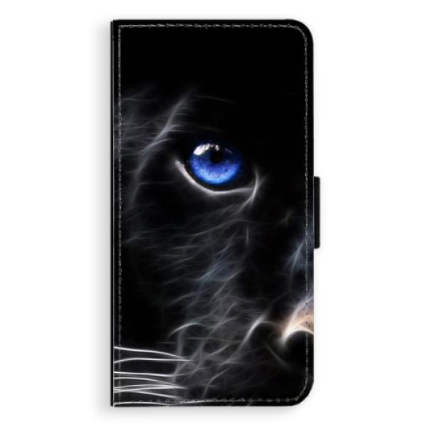 Flipové pouzdro iSaprio - Black Puma - Nokia 6