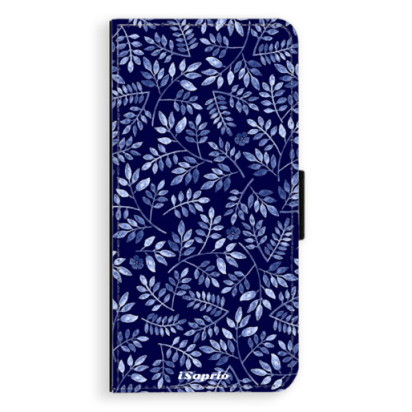 Flipové pouzdro iSaprio - Blue Leaves 05 - LG G6 (H870)