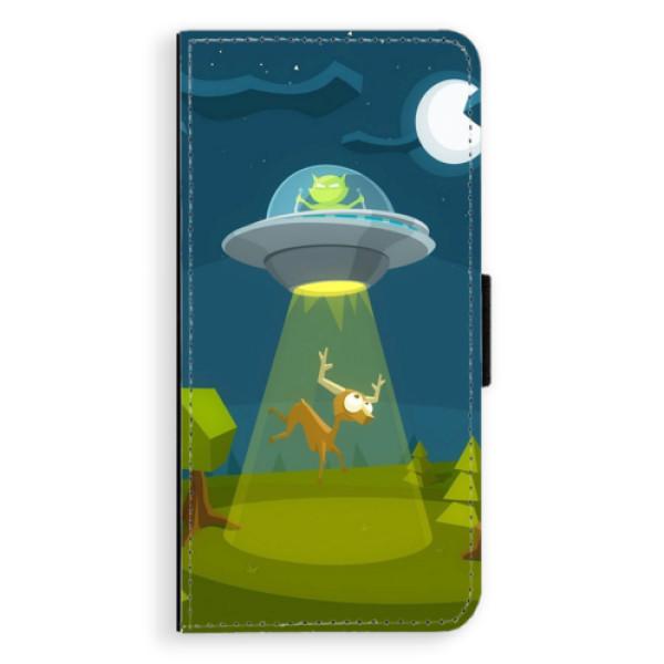 Flipové pouzdro iSaprio - Alien 01 - Huawei Ascend P8