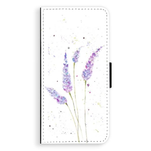 Flipové pouzdro iSaprio - Lavender - Huawei Ascend P8