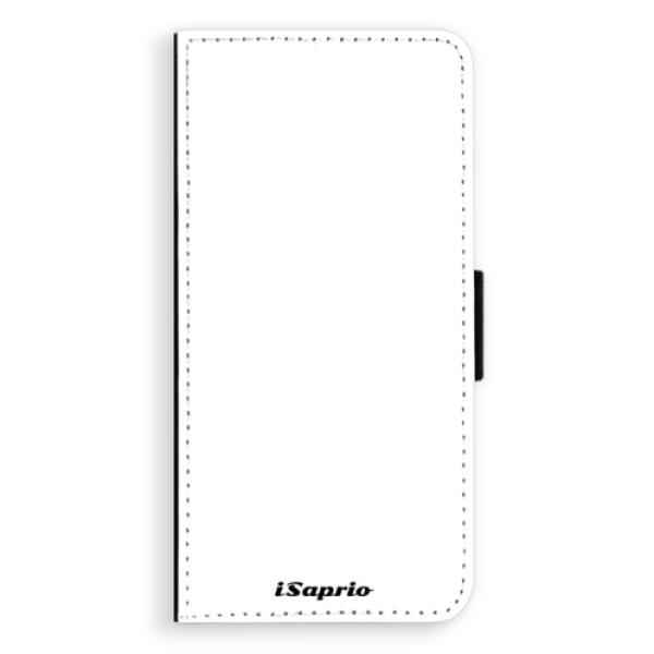 Flipové pouzdro iSaprio - 4Pure - bílý - Huawei Ascend P8