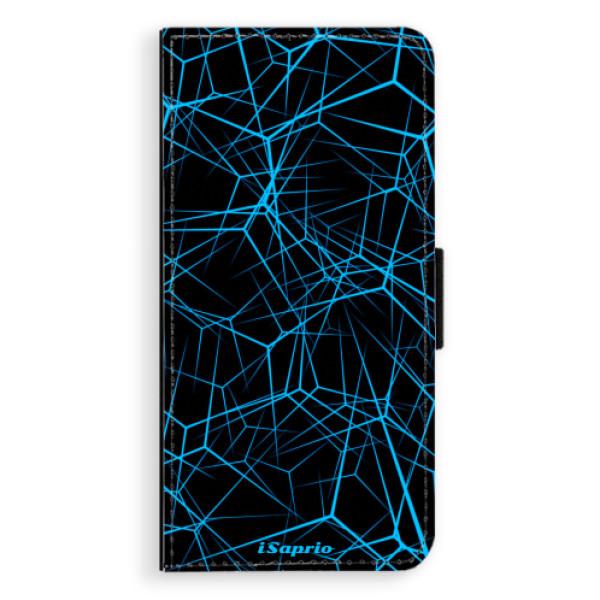 Flipové pouzdro iSaprio - Abstract Outlines 12 - Huawei P9