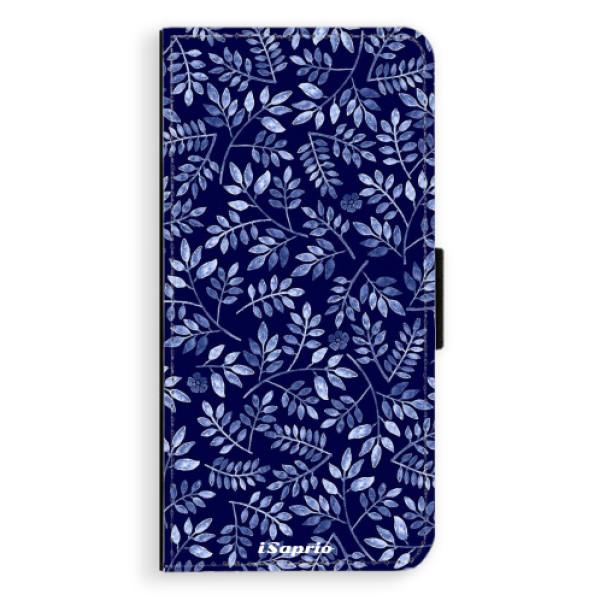 Flipové pouzdro iSaprio - Blue Leaves 05 - Huawei P9