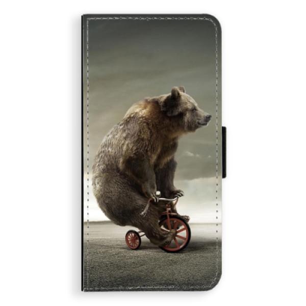 Flipové pouzdro iSaprio - Bear 01 - Huawei P9