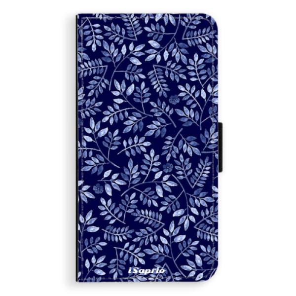 Flipové pouzdro iSaprio - Blue Leaves 05 - Huawei Ascend P9 Lite