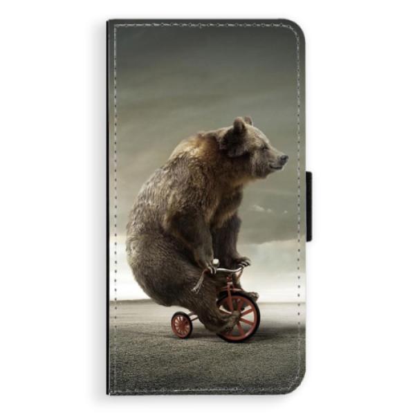 Flipové pouzdro iSaprio - Bear 01 - Huawei Ascend P9 Lite