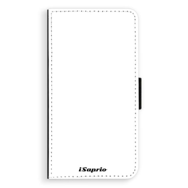 Flipové pouzdro iSaprio - 4Pure - bílý - Huawei P10 Plus