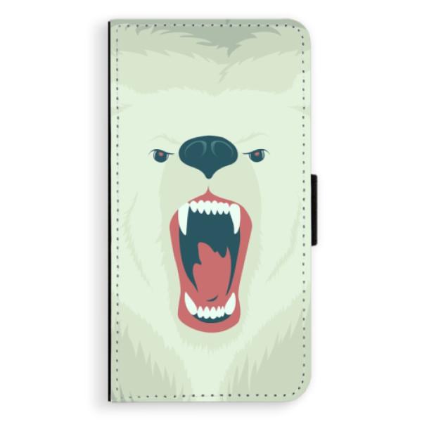 Flipové pouzdro iSaprio - Angry Bear - Huawei Nova