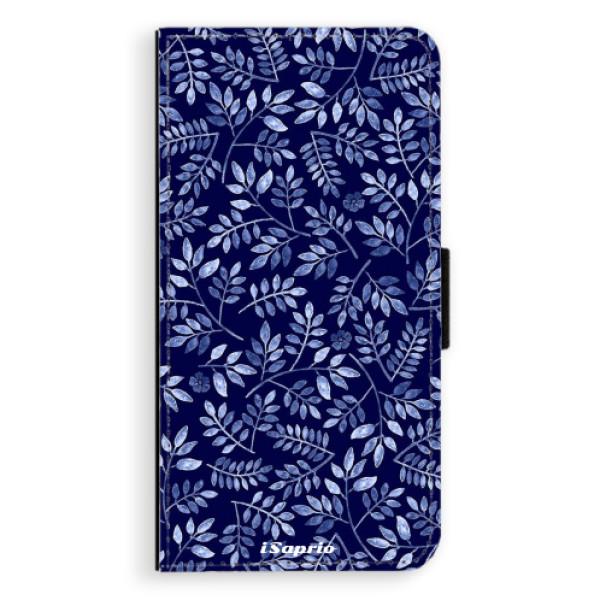 Flipové pouzdro iSaprio - Blue Leaves 05 - iPhone 7 Plus