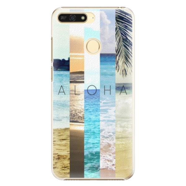 Plastové pouzdro iSaprio - Aloha 02 - Huawei Honor 7A