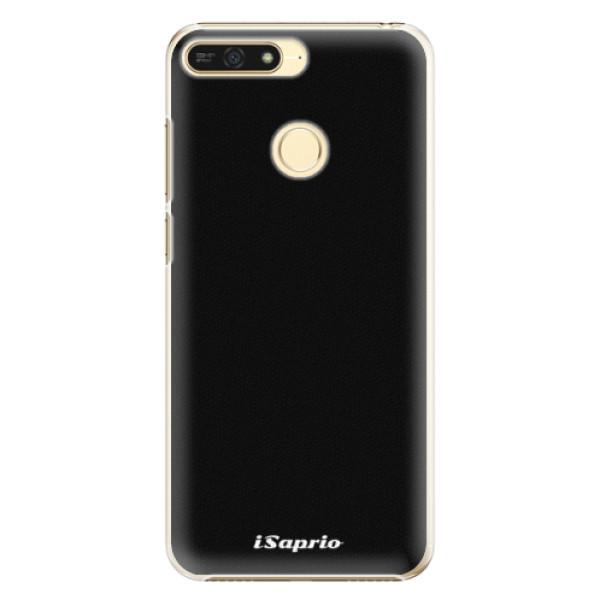 Plastové pouzdro iSaprio - 4Pure - černý - Huawei Honor 7A