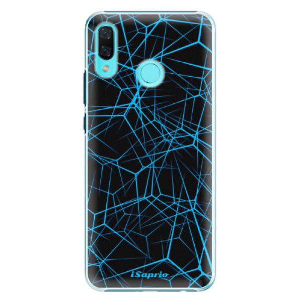 Plastové pouzdro iSaprio - Abstract Outlines 12 - Huawei Nova 3