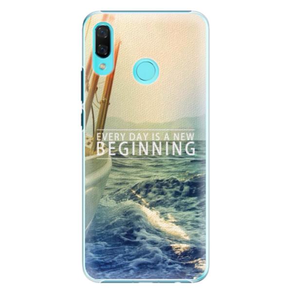 Plastové pouzdro iSaprio - Beginning - Huawei Nova 3