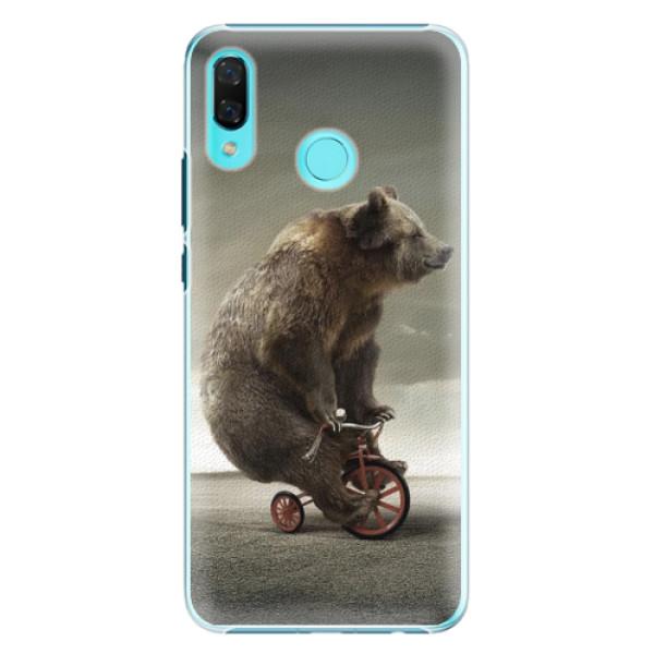 Plastové pouzdro iSaprio - Bear 01 - Huawei Nova 3