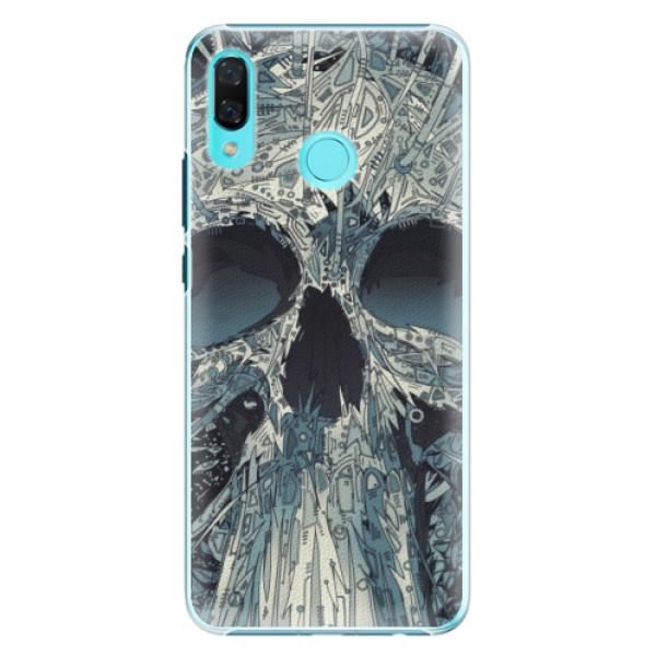 Plastové pouzdro iSaprio - Abstract Skull - Huawei Nova 3