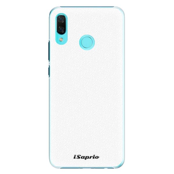Plastové pouzdro iSaprio - 4Pure - bílý - Huawei Nova 3