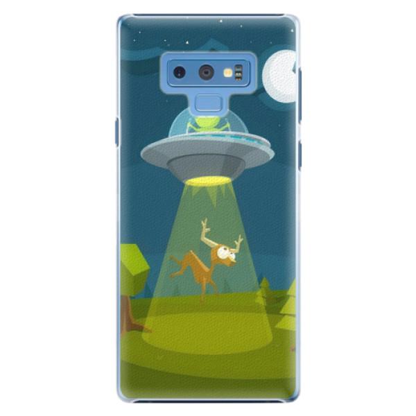 Plastové pouzdro iSaprio - Alien 01 - Samsung Galaxy Note 9