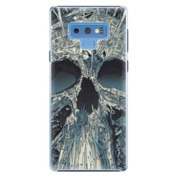 Plastové pouzdro iSaprio - Abstract Skull - Samsung Galaxy Note 9