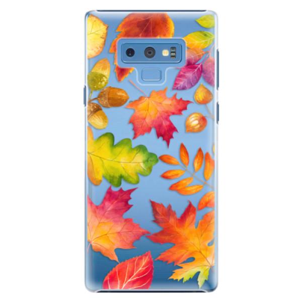 Plastové pouzdro iSaprio - Autumn Leaves 01 - Samsung Galaxy Note 9