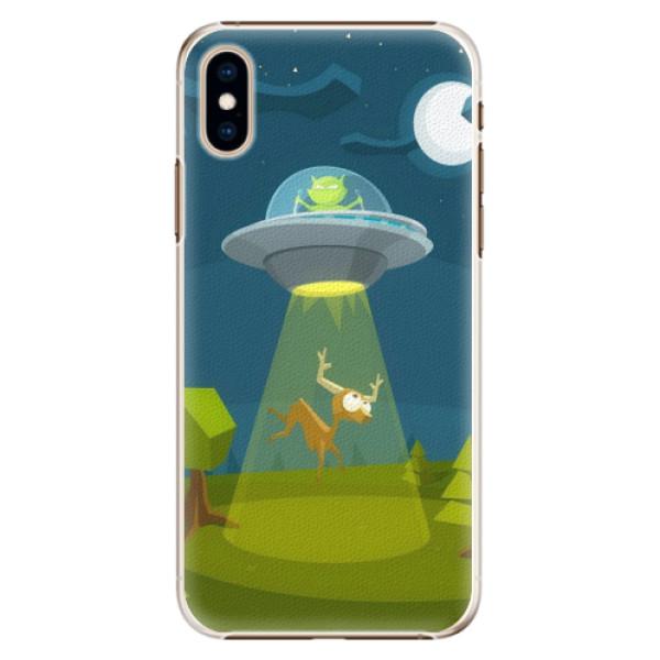 Plastové pouzdro iSaprio - Alien 01 - iPhone XS