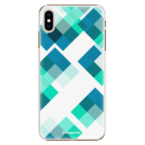 Plastové pouzdro iSaprio - Abstract Squares 11 - iPhone XS Max