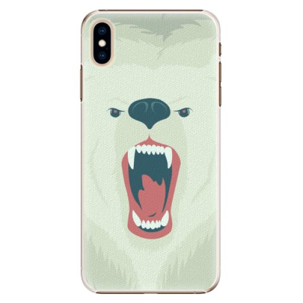 Plastové pouzdro iSaprio - Angry Bear - iPhone XS Max