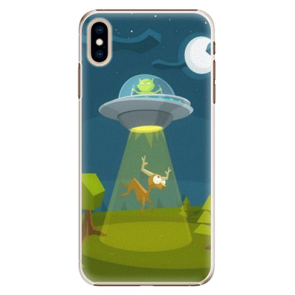 Plastové pouzdro iSaprio - Alien 01 - iPhone XS Max