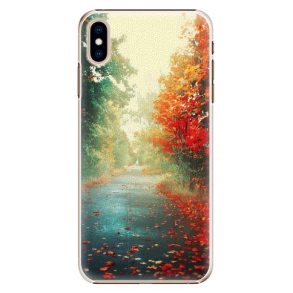 Plastové pouzdro iSaprio - Autumn 03 - iPhone XS Max