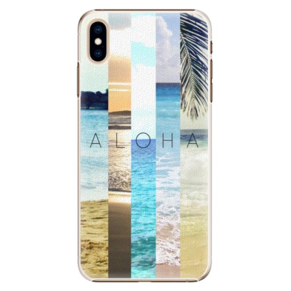 Plastové pouzdro iSaprio - Aloha 02 - iPhone XS Max