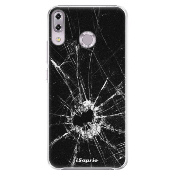 Plastové pouzdro iSaprio - Broken Glass 10 - Asus ZenFone 5Z ZS620KL