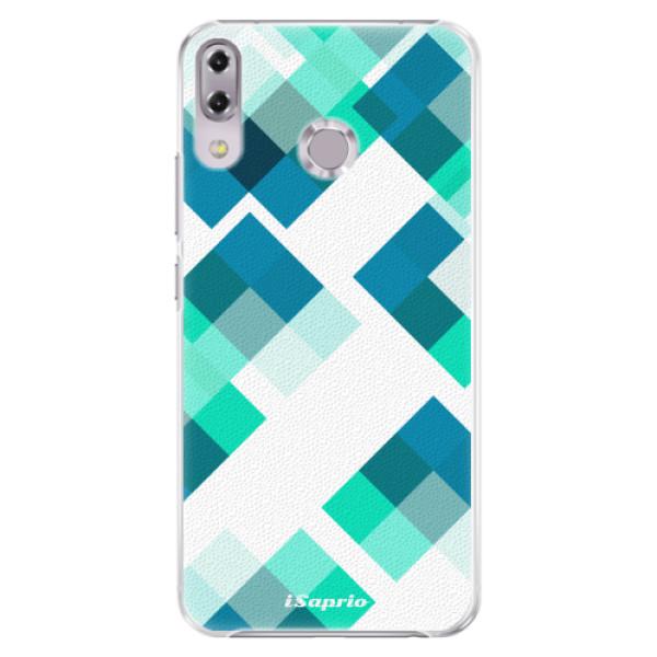 Plastové pouzdro iSaprio - Abstract Squares 11 - Asus ZenFone 5Z ZS620KL