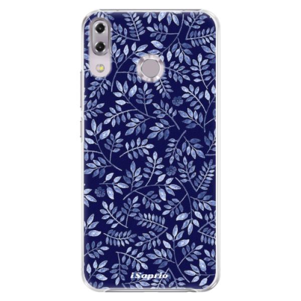 Plastové pouzdro iSaprio - Blue Leaves 05 - Asus ZenFone 5Z ZS620KL
